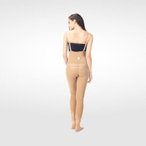 I Cheer Mid Body Compression Girdle W/ Two Lateral Zipper- Below Knee