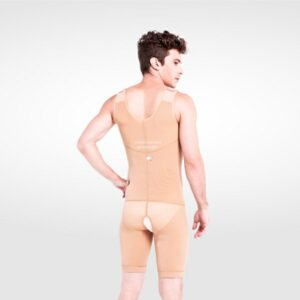 I Cheer Zippered Abdominal /Chest Garment for MEN (Above Knee)