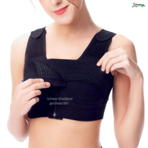 I CHEER BREAST SURGERY SUPPORT BRA COMFORT COTTON