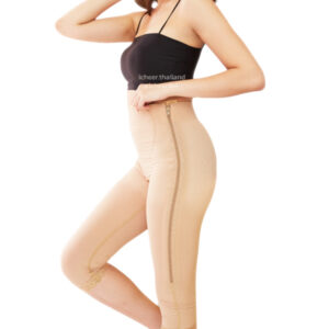 Zippered Contouring Girdle (Capri)