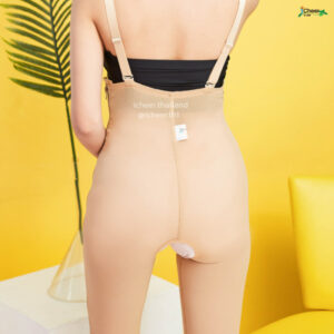 I Cheer Mid Body Compression Girdle W Two Latera Zipper-Knee-Lenght